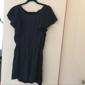 Black short-sleeved H&M romper
